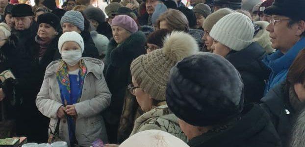 Раздали товары в Ульяновске!