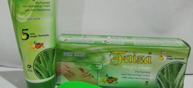 Faiza крема для удаления волос