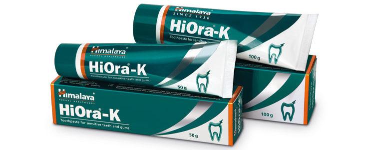 Зубная паста для чувствительных зубов Хиора-К, Himalaya