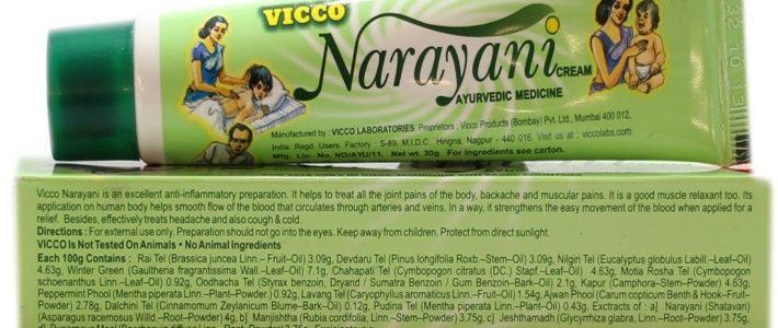 Обезболивающий крем Нараяни